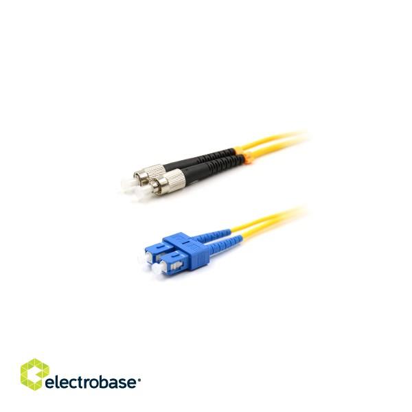 SC-FC patch cord/ duplex/ SM/ 2m   electrobase lv